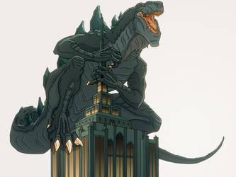 GTS WALLPAPER by GodzillaTheSeries