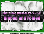 Ripped and Foleded Brushes