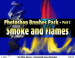 Smoke and Flames Brushes