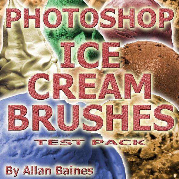 Ice Cream Brushes Test by YesOwl