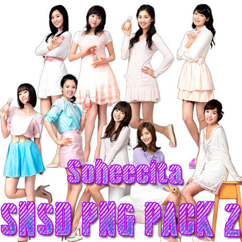 SNSD PNG PACK 2 by Soheecita