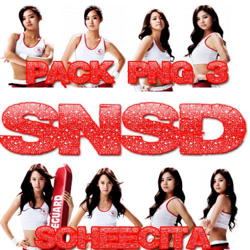 SNSD PNG PACK 3 by Soheecita