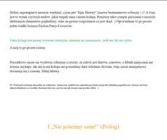 Epic History rozdzial I (Prolog)