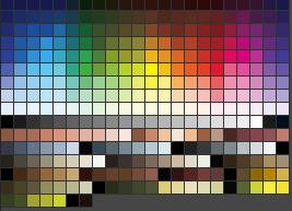 Erebus Photoshop swatches by Erebus-art