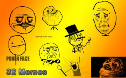 32 Meme's brushes