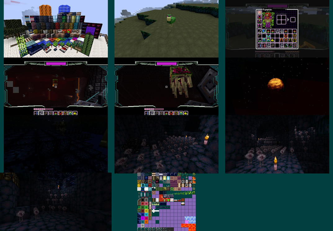 Minecraft Metroid Texture Pack by RuokDbz98