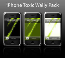 iPhone Toxic Wallpaper Pack by Razor99