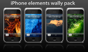 iPhone Elements Wally Pack