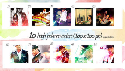 1o hugh jackman avatars by zimtxstern