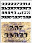 FAT BLOCK font