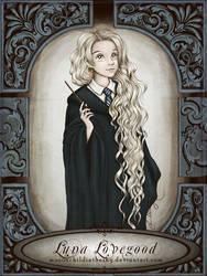 Luna Lovegood by MoonchildinTheSky