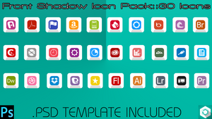 Front Shadow Icon Pack