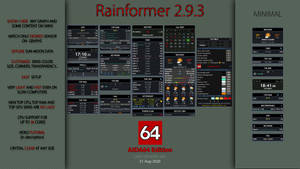 Rainformer 2.9.3 AIDA64 Edition | Rainmeter