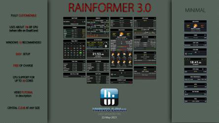 Rainformer 3.0 HWiNFO Edition : Rainmeter