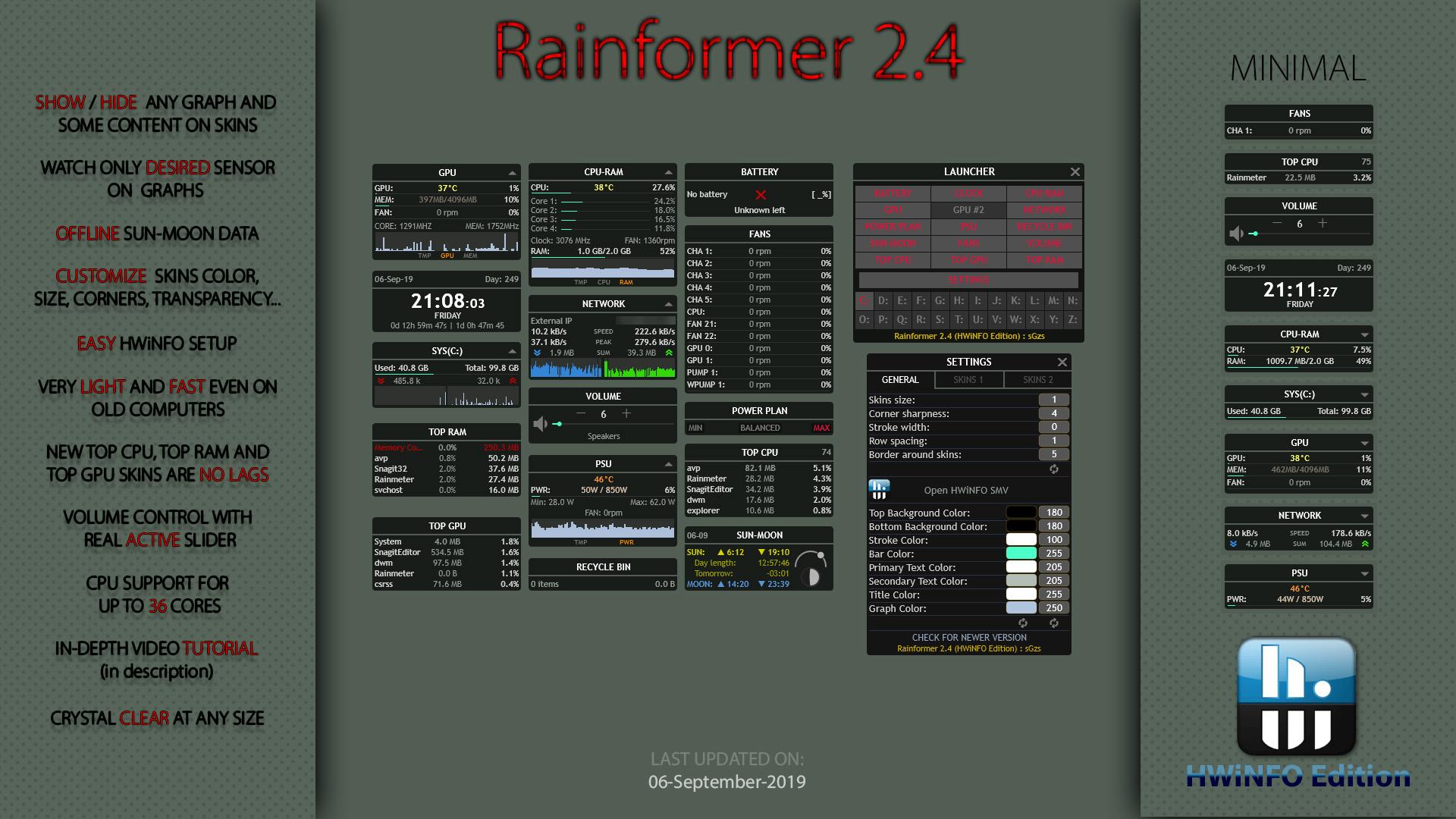TÉLÉCHARGER RAINMETER 2.4 FINAL
