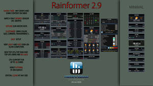 Rainformer 2.9 HWiNFO Edition : Rainmeter