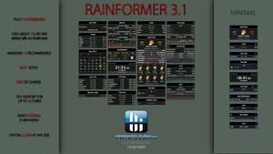 Rainformer 3.1 HWiNFO Edition : Rainmeter
