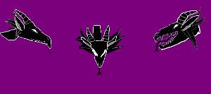 Dragon Head Silhouette Concepts:Ears/Frills/Tongue by SacredSpirit123