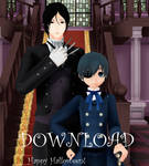 Ciel Phantomhive and Sebastian Michaelis(download)