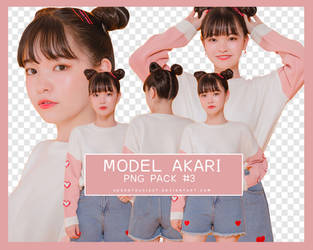 Png Pack #3 | Model Akari by adorathusiast