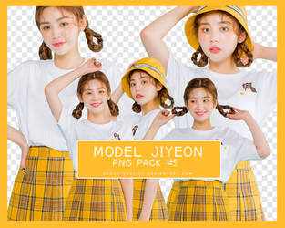 Png Pack #5 Model Jiyeon by adorathusiast
