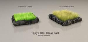 C4D Grass Pack