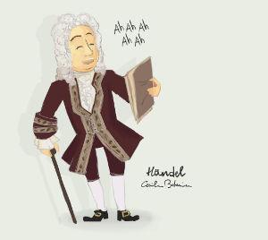 - Handel cartoon -
