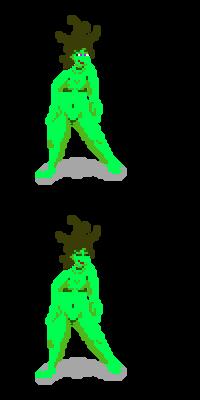 Treegirl (Pixel experimental) :)