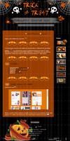 Free: Halloween Journal skin