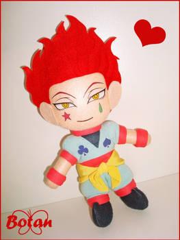chibi Hisoka plushie!