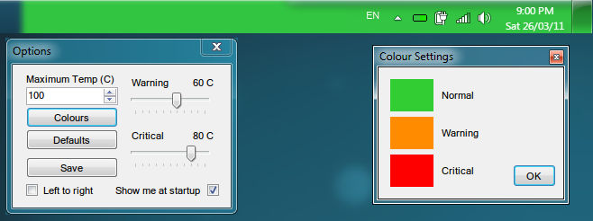 Temp Taskbar for Windows 7