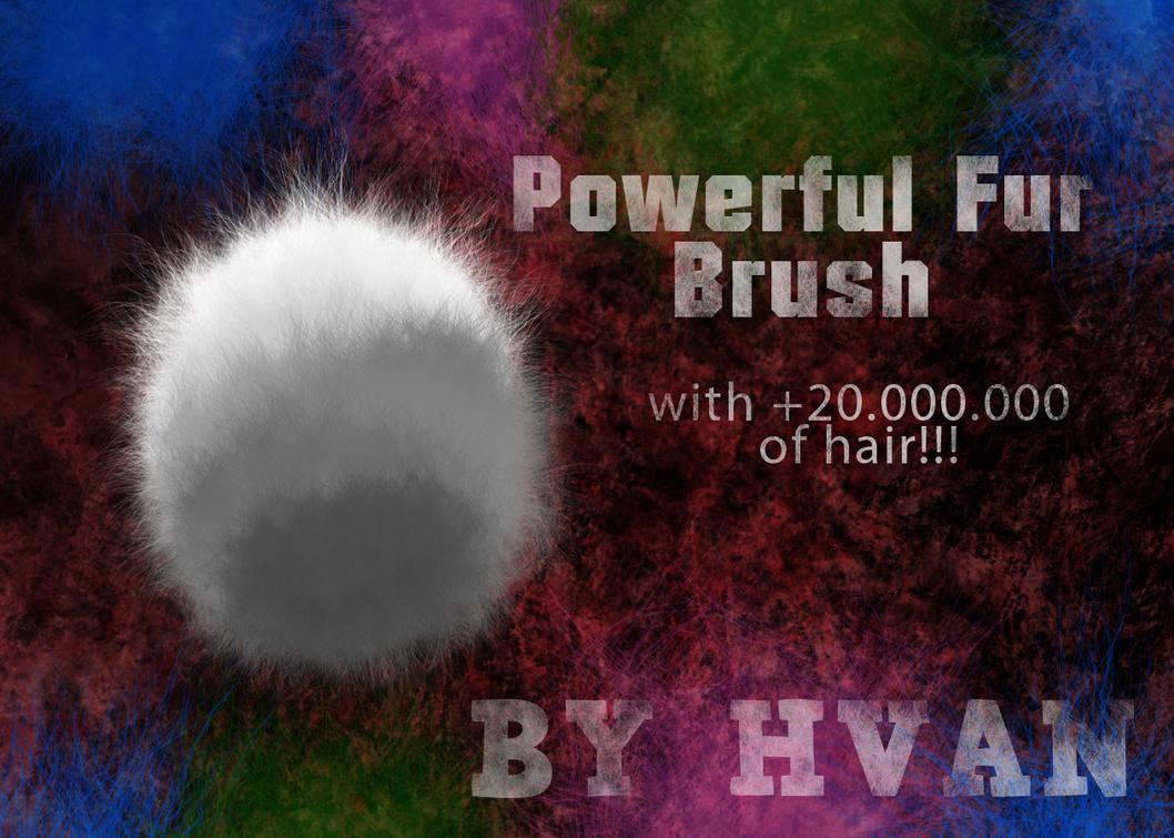 Powerful Fur Brush by LACardozaRojas