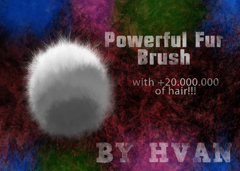 Powerful Fur Brush