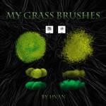 My Grass Brushes