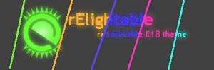 rElightable - recolorable E18 default theme