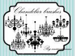 Chandelier brushes