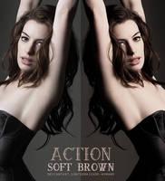 Soft Brown Action by demasiado-humano