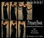 Gothic Dress Stock Pack II