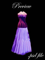.:Purple Dress-Manip:. by Fitheach-Stock