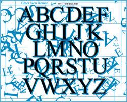 Alphabet Brushes by DieseLiNo