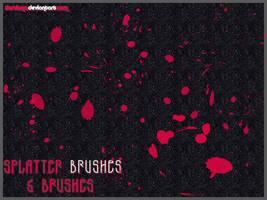 Splatter Brushes by darviana