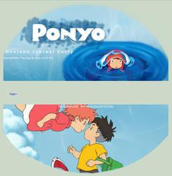 Ponyo Journal