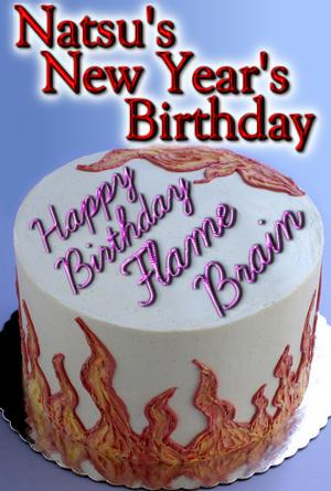 Natsu S New Year S Birthday Gratsu Fanfic By Rhov On