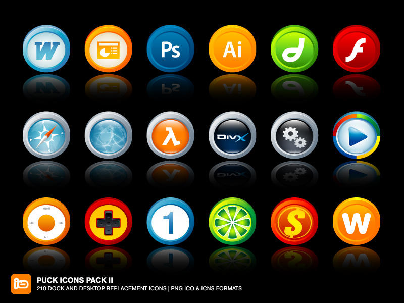 Puck Icons Pack II by deleket