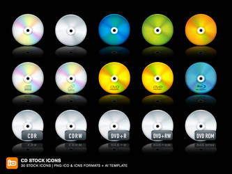 CD Stock Icons