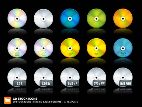 CD Stock Icons
