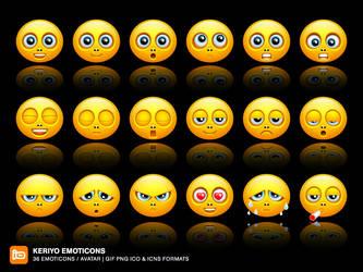 Keriyo Emoticons by deleket