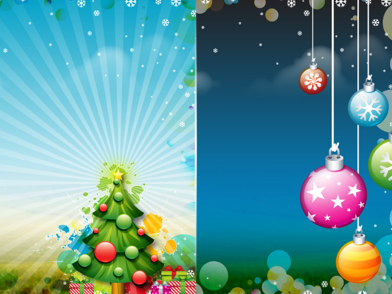 Christmas XP Sample Wallpaper by deleket
