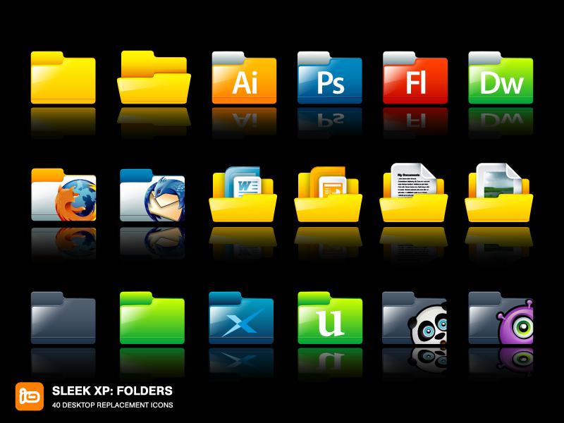 Sleek XP: Folders by deleket