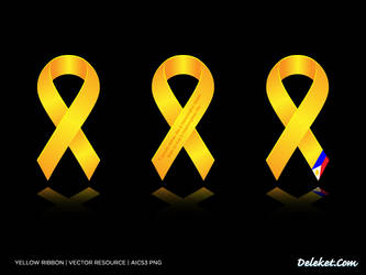 Yellow Ribbon by deleket